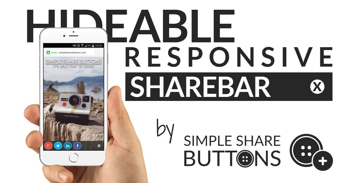 Hideable Responsive Sharebar
